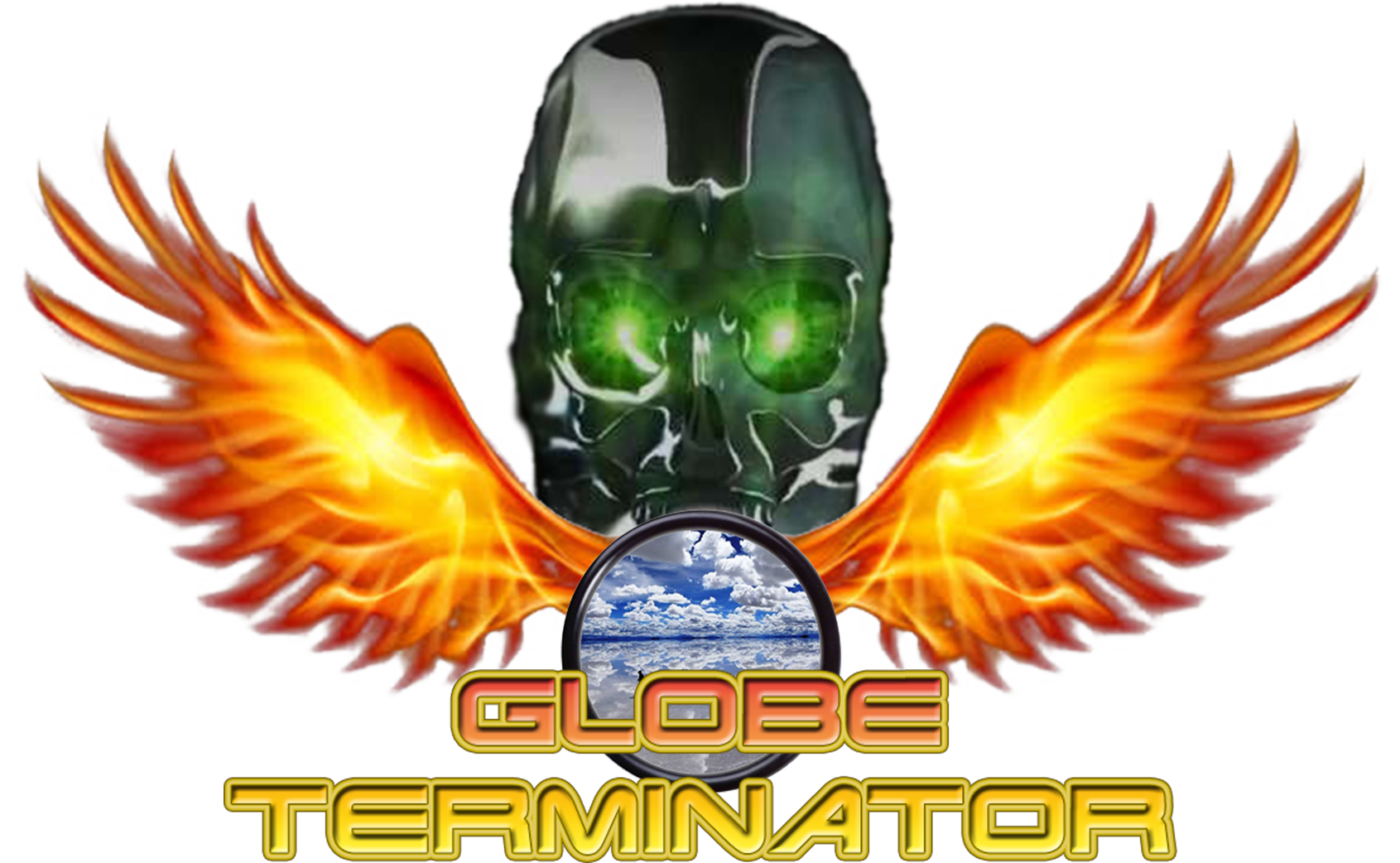 The Globe Terminator Logo